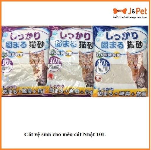 Cát Vệ Sinh Cho Mèo Cát Nhật 10l