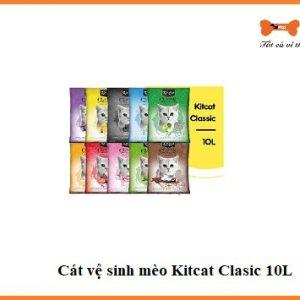 Cát Vệ Sinh Mèo Kitcat Clasic 10l 1