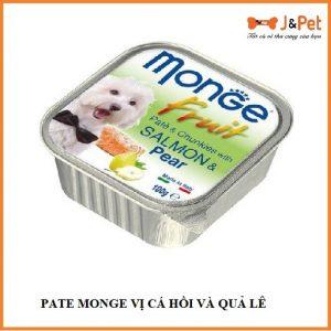 Pate Monge VỊ CÁ HỒi VÀ QuẢ LÊ