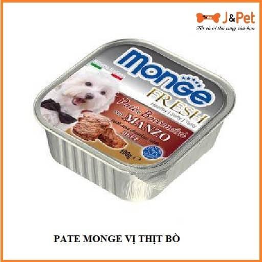 Pate Monge VỊ ThỊt BÒ