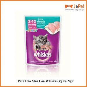 Pate Cho Mèo Con Whiskas Vị Cá Ngừ