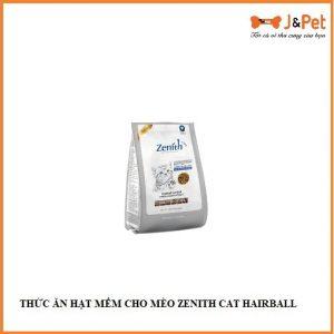 ThỨc Ăn HẠt MỀm Cho MÈo Zenith Cat Hairball