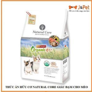 ThỨc Ăn HỮu CƠ Natural Core GiÀu ĐẠm Cho MÈo