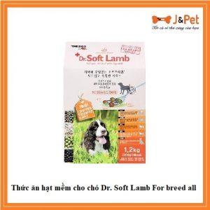 Thức ăn Hạt Mềm Cho Chó Dr. Soft Lamb For Breed All