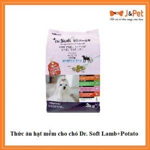 Thức ăn Hạt Mềm Cho Chó Dr. Soft Lamb+potato