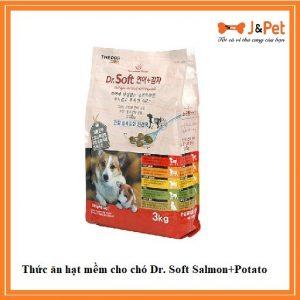 Thức ăn Hạt Mềm Cho Chó Dr. Soft Salmon+potato