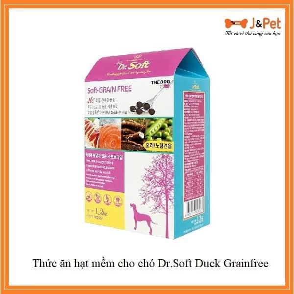 Thức ăn Hạt Mềm Cho Chó Dr.soft Duck Grainfree