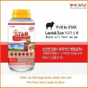 We'll Be Star Lamb & Rice