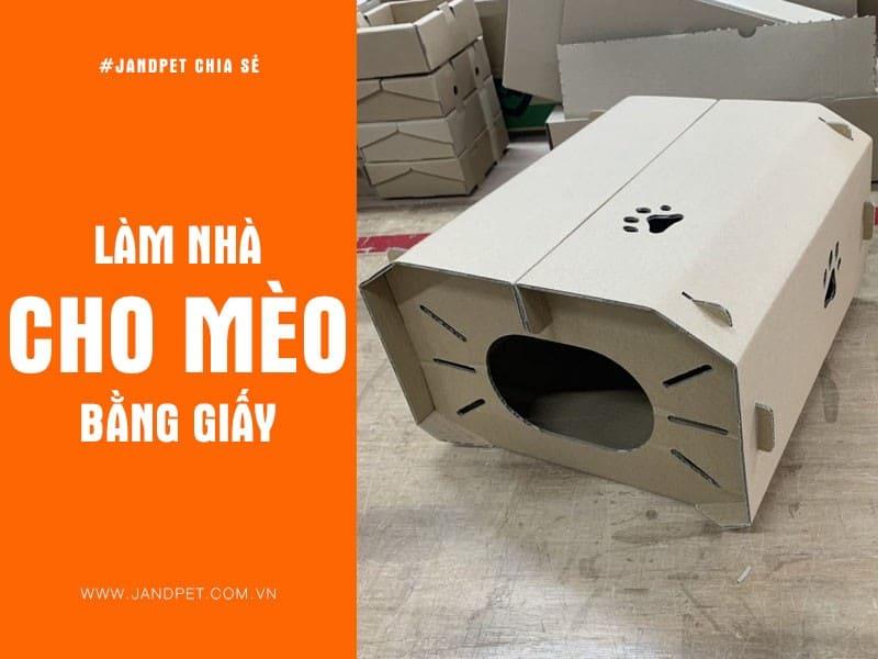 Lam Nha Cho Meo Bang Giay