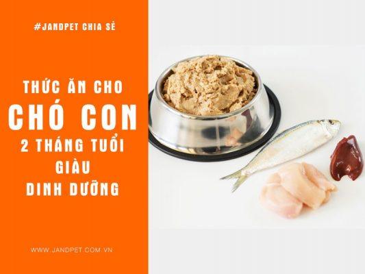 Thuc Anh Cho Cho Con 2 Thang Tuoi