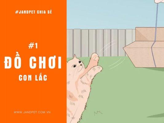Top 3 Do Choi Con Lac Cho Meo